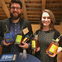 Shawn Summers and Erin Smith of Wigle Whiskey