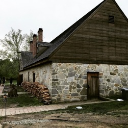 Exterior of George Washington's Distillery