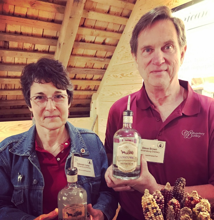 Deborah Collier & Steve Brown of Williamsburg Distillery