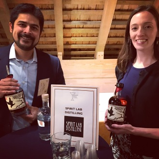 Ivar Aass & Sarah Barrett of Spirit Lab Distilling