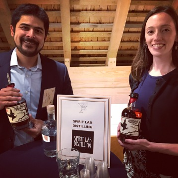 Ivar Aass & Sarah Barrett of Spirit Lab Distilling